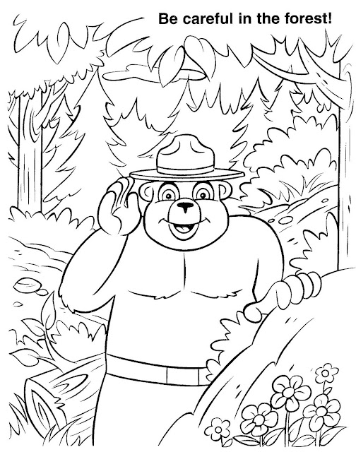 Virginia Wildfire Information and Prevention: Smokey's