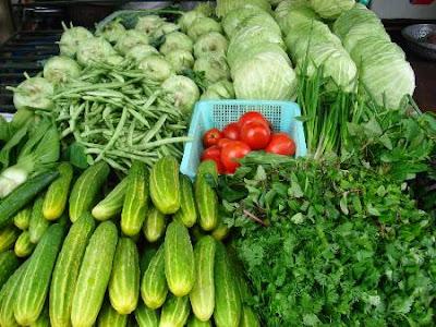 Ăn nhiều rau quả cũng là yếu tố quan trọng trong cac phuong phap giam beo