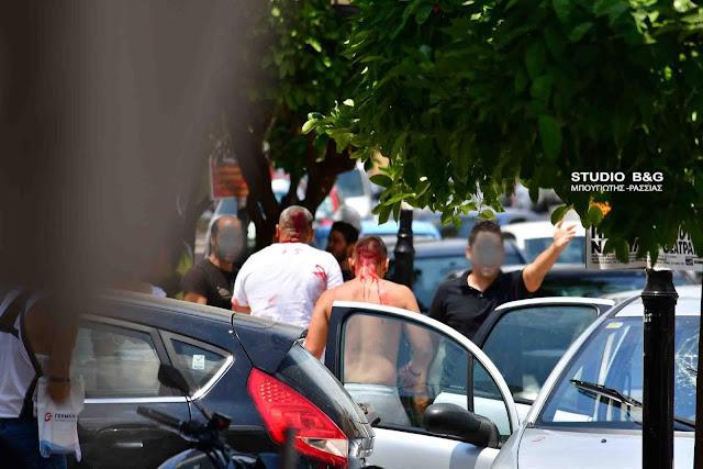 Σφαγή στο Ναύπλιο -Αιματηρά επεισόδια με Ρομά στο κέντρο της πόλης (βίντεο)