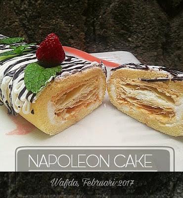 Resep Napoleon Cake Ala Resto By @dapurwafda