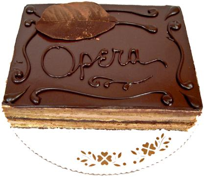 Cake Hour Cackle The Gradual Demise Of An Opera Torte