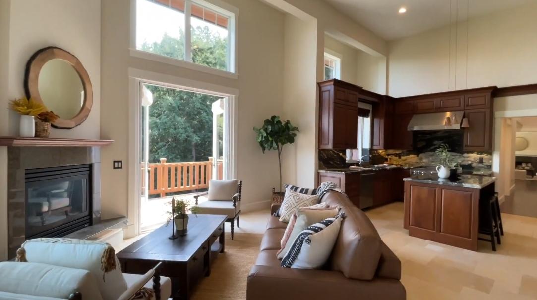 18 Interior Design Photos vs. 580 Edgewood Ave, Mill Valley, CA Home Tour