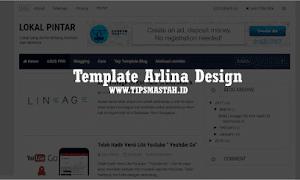 Template Arlina Design Cloning 100% Asli Gratis