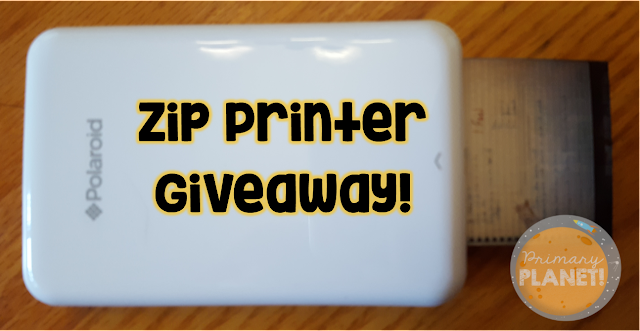Zip Printer and Zink Paper Giveaway!