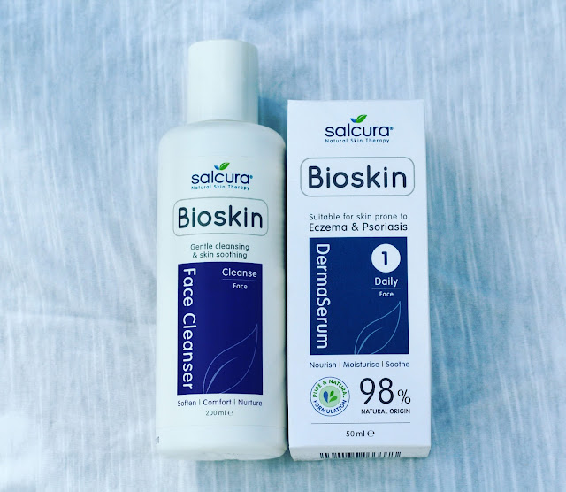 Bioskin DermaSerum is a practical everyday-use moisturising serum formulated for use on the face, including around the eyes. This practical and easy to use gel serum nourishes skin prone to eczema, psoriasis, dermatitis, rosacea and other related dry skin conditions. It nourishes the skin and effectively breaks the itch-scratch cycle.  DermaSerum is 98% natural, and contains no steroids or harsh chemicals that will further irritate sensitive skins.  With Sea Buckthorn for cell regeneration, Safflower for nourishment and Aloe Vera for calming and soothing.  What are the benefits of a Serum? DermaSerum's light gel formula makes it ideal for targeting patches of dry skin on the face and around the delicate eye area with ease and control. It penetrates quickly and deeply to support healthy skin growth by nourishing new skin cells in their early development. Non-greasy and non-staining, the serum is rapidly absorbed. With no known side effects it is suitable for use during pregnancy.