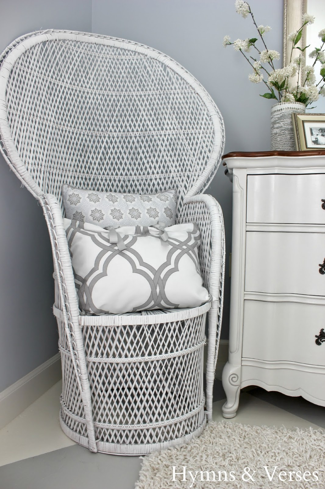 rattan peacock chair maestro pedicure spa hymns and verses finally finished the master bedroom