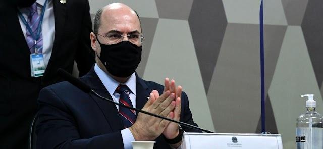 Estranhamente ou coincidência, a Justiça Federal do Rio torna Witzel, e outros, réus logo após a fala na CPI