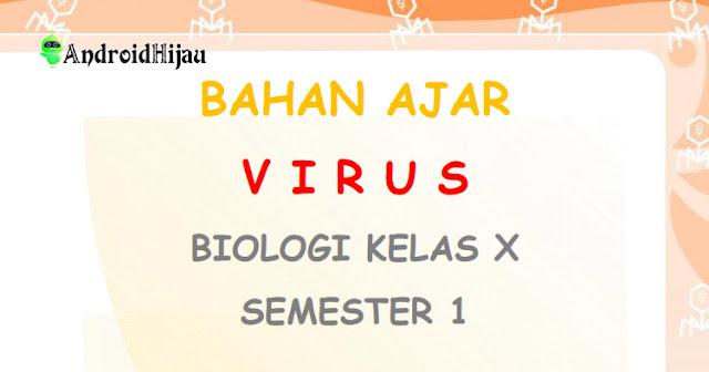 Modul materi belajar dari rumah kelas x biologi, modul kelas 3 sma biologi covid-19, modul pembelajaran biologi kelas 10 tentang virus, rangkuman tugas biologi kelas X