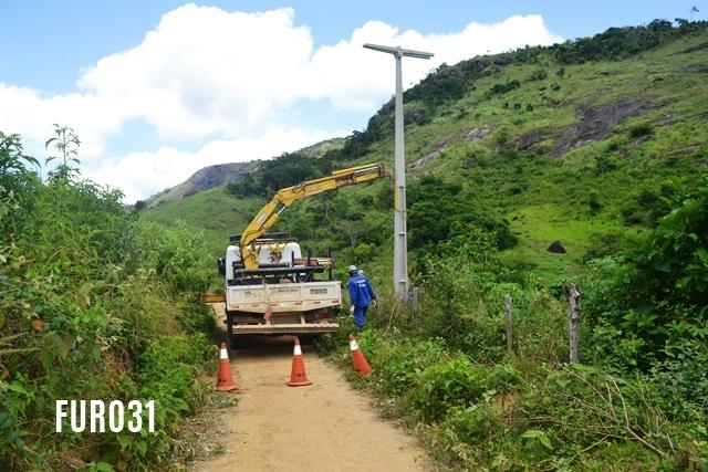 Energia elétrica chega à região de Córrego do Norte em Guaratinga