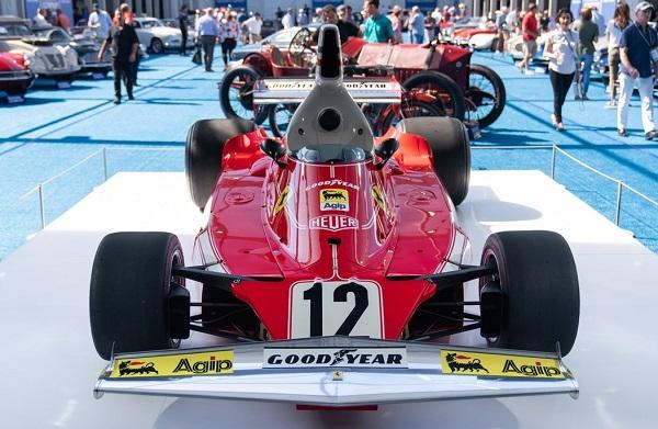 Ferrari 312T de Niki Lauda 1975