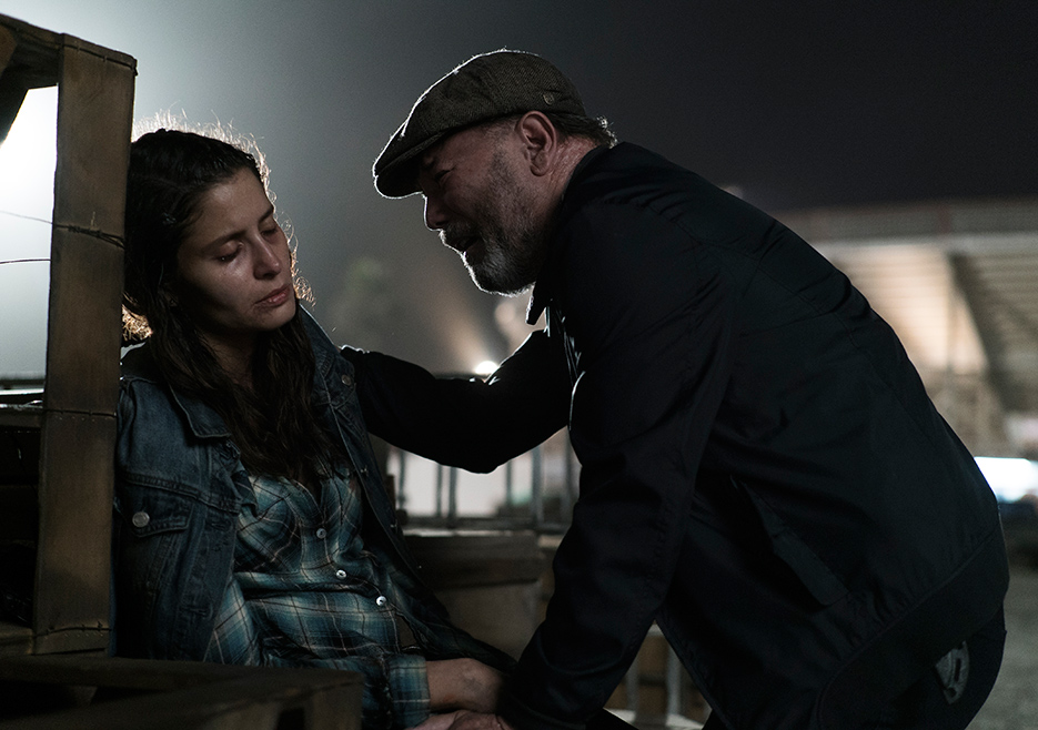 Daniel y Ofelia en el episodio 3x14 de Fear The Walking Dead