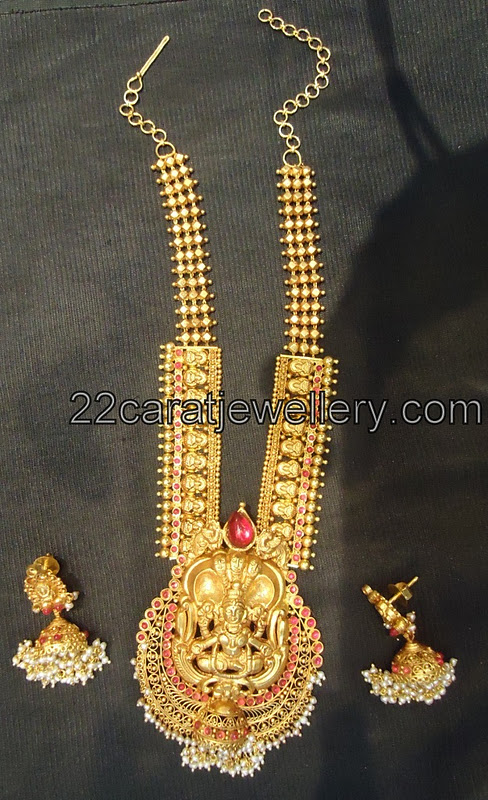Antique Haram South Indian Traditional Jewelry Jewellery Designs