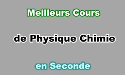 Cours Physique Chimie Seconde Gratuit en PDF