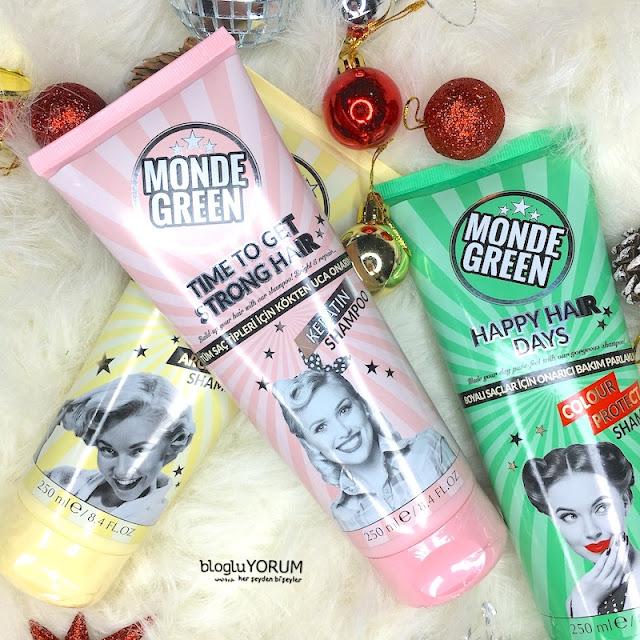 monde green keratin şampuan