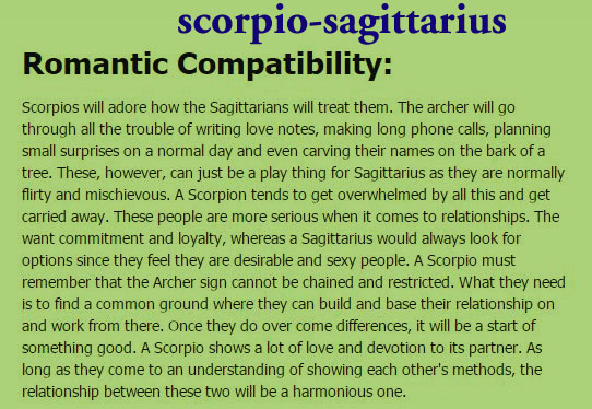 difference between leo and sagittarius dating