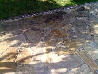 Stein Schutz Pflege Reinigung Gartenbaustoffe Quarzit