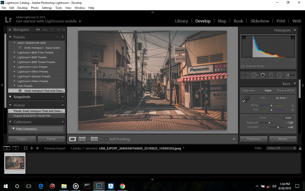 Fungsi Tool Yang Ada di Adobe Photoshop Lightroom CC