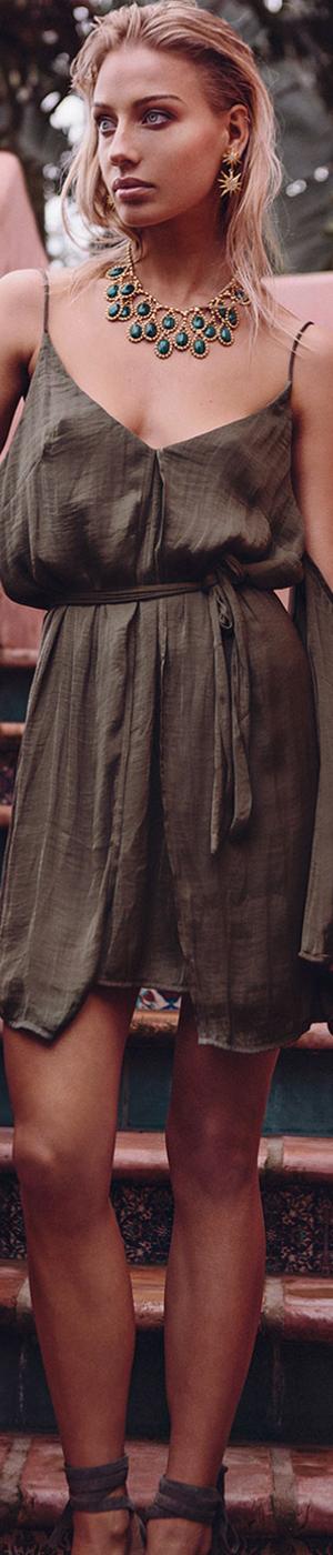 Sabo Fawn Panel Dress