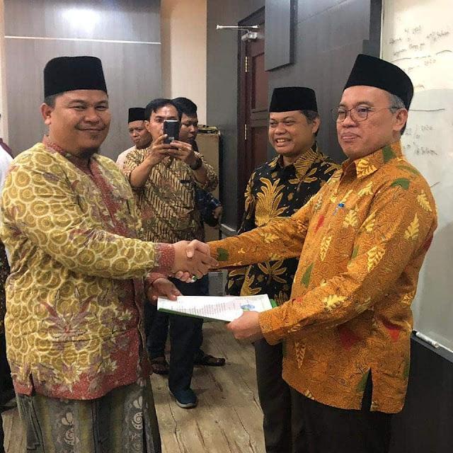 Abi MUDI Terima SK Penyenggaraan Pendidikan Muadalah Wustha
