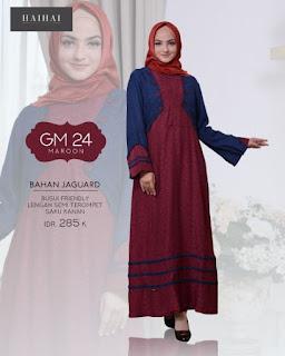BAJU MUSLIM PROMO GAMIS HAIHAI GM 24