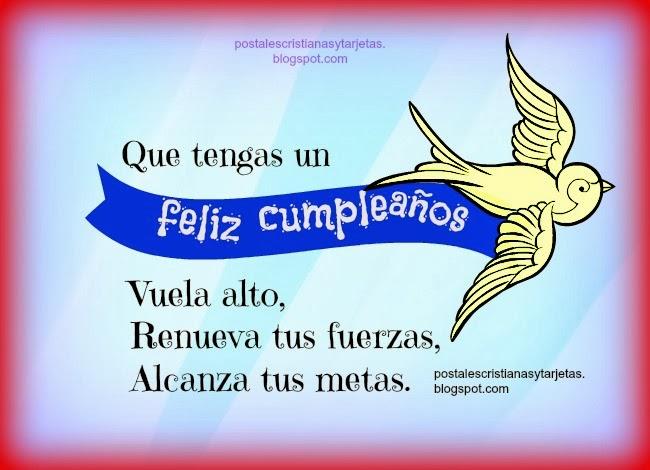 Buen Deseo En Tu Cumpleaños Feliz Postales Cristianas Y Tarjetas