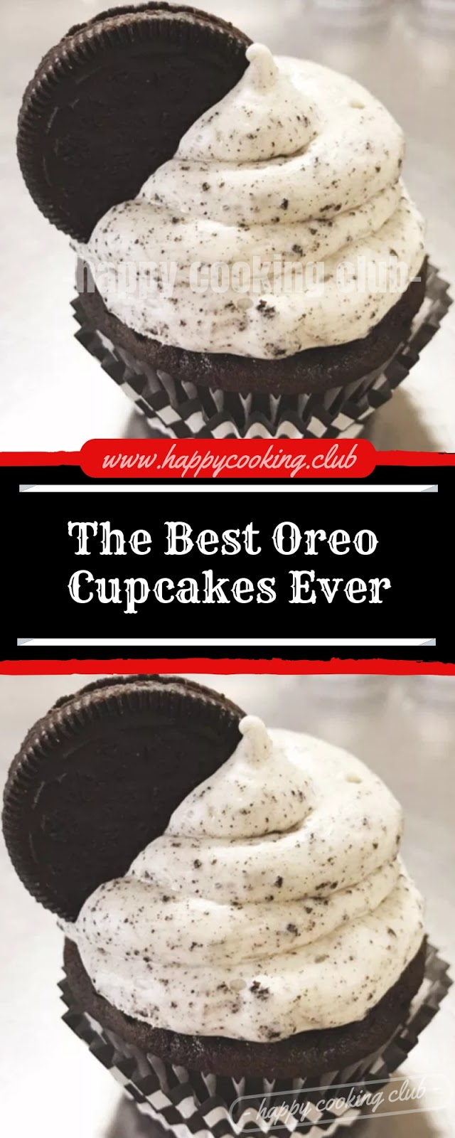 The Best Oreo Cupcakes Ever