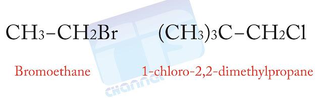هاليدات الألكيل الأولية R-CH2-X