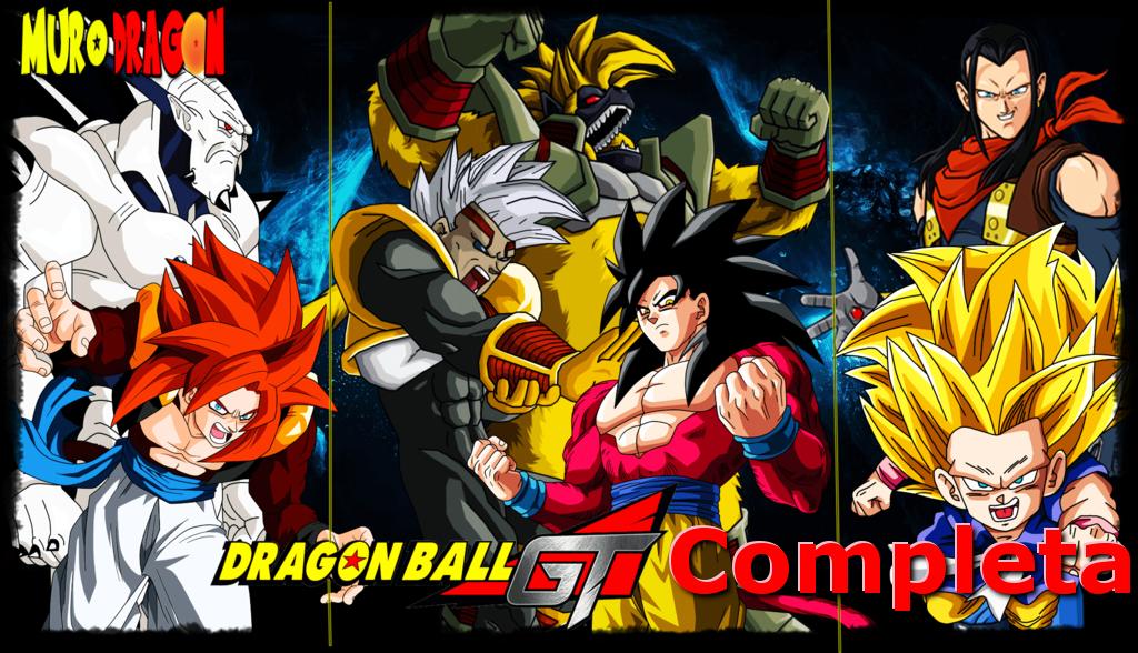 Muro Dragon Descargar Todos Los Capítulos De Dragon Ball Gt