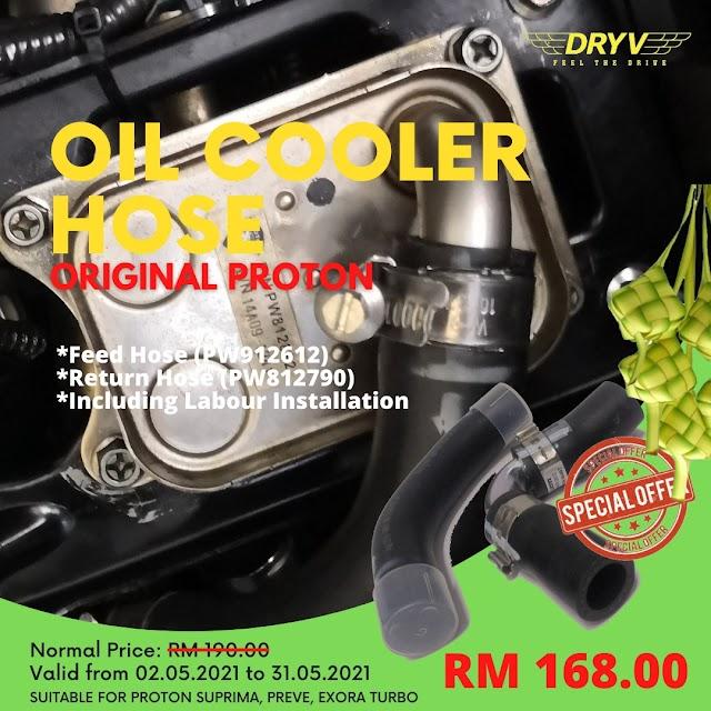 Ganti Oil Cooler Host (OCH )
