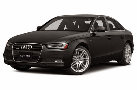 2015 Audi A4 Prestige 2.0 TFSI® Sedan Key Features