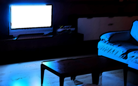 tv-dark-room