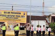 Polres Dairi Laksanakan Gelar Pasukan Ops Ketupat 2021