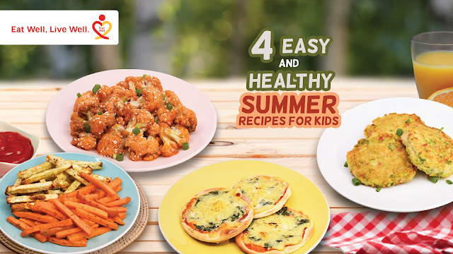 4 Easy, Affordable, Healthy, and Fun Summer Recipes for Kids