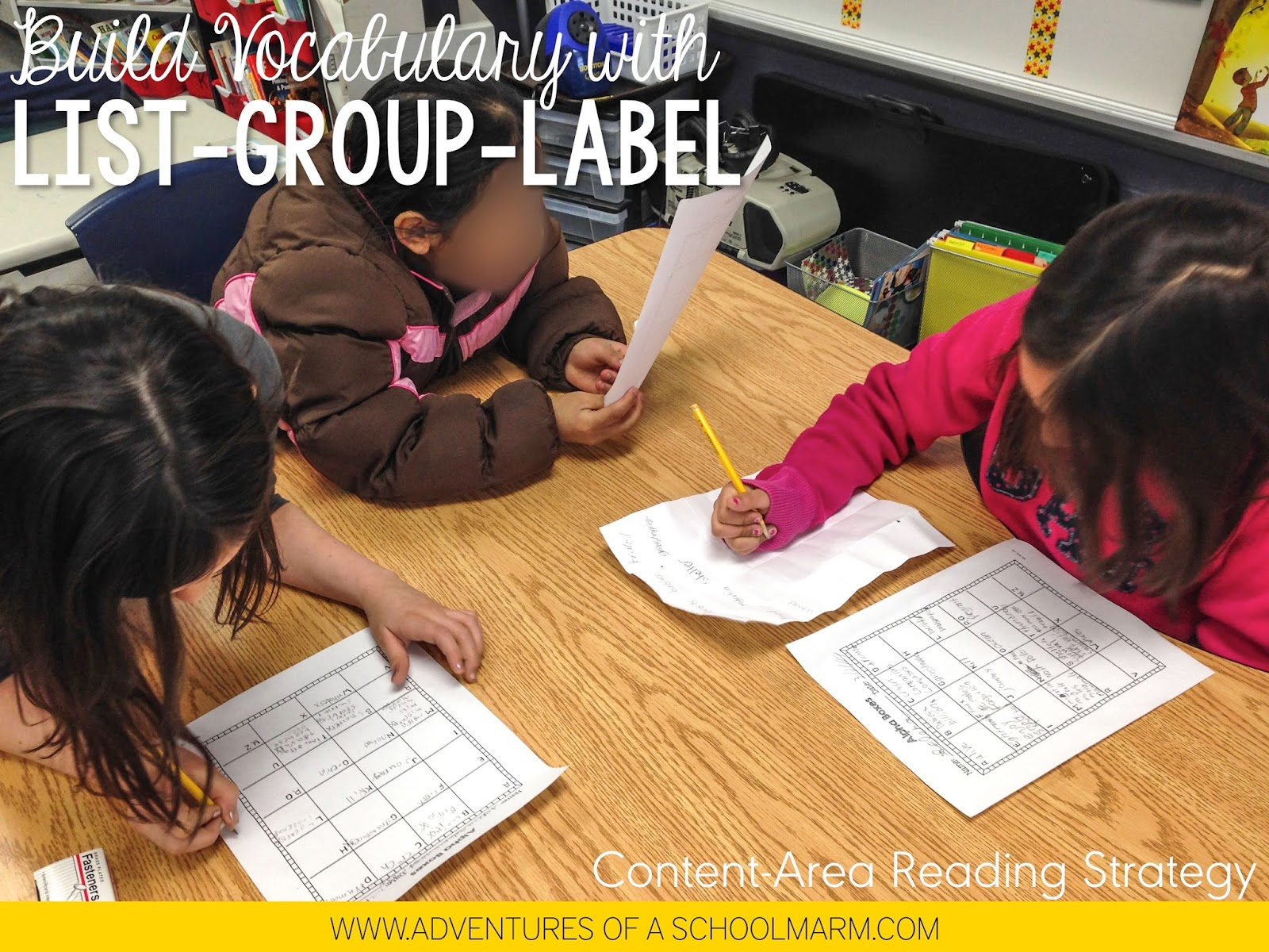 List-Group-Label is another one of my favorite strategies for increasing students' vocabulary. Grouping and labeling the words activates their critical thinking skills and helps them see relationships between the words. By connecting their prior knowledge to new learning, they are able to form a lasting understanding of what the words mean. Great for activating critical thinking skills, connecting prior knowledge to new learning, and encouraging divergent thinking!