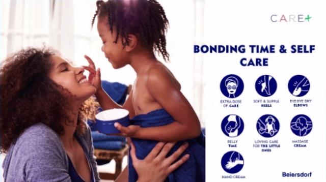 Bonding dengan anak menggunakan NIVEA Creme