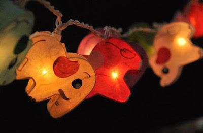 Elephant Paper Lanterns