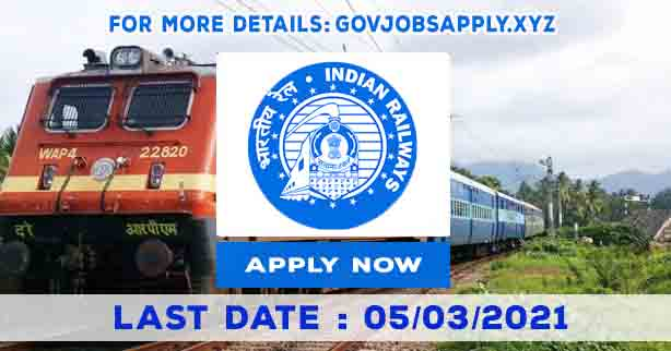 Central Railway Recruitment Notification Details 2021 | Total Vacancy 2532 | Last Date 05th March 2021