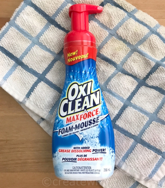 Create With Mom: Cleaning Made Easy with OxiClean™