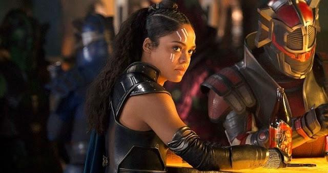Tessa Thompson es Valquiria en Thor: Ragnarok