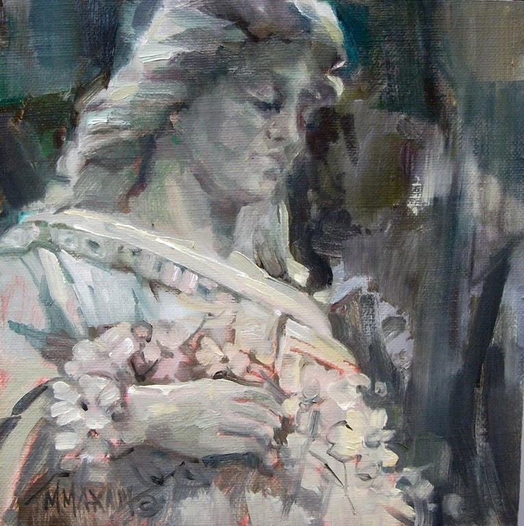 Mary Maxam Paintings Angel Without Wings