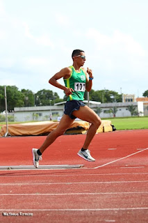 Baraunense integra Seleção Paraibana de Atletismo no Campeonato Norte e Nordeste em Recife