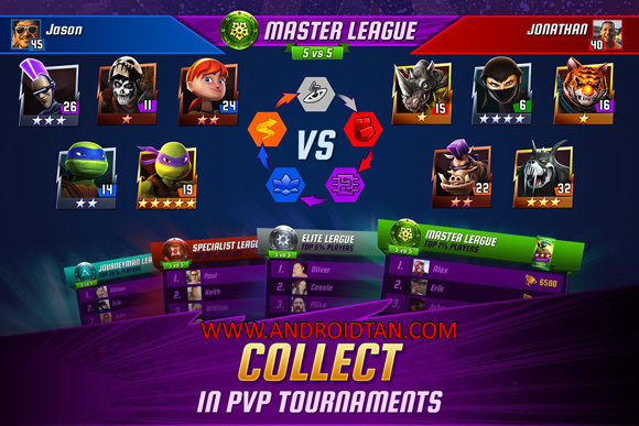 Ninja Turtles Legends Mod Apk Latest Version
