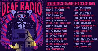 DEAF RADIO European tour 2018 dates announced