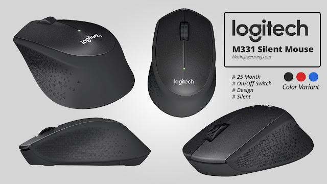 Review Mouse Logitech M331 Silent