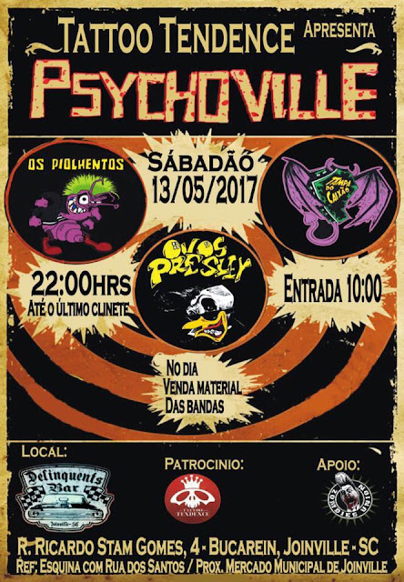 Psychoville - Ovos, Tampa e Piolehntos em Joinville
