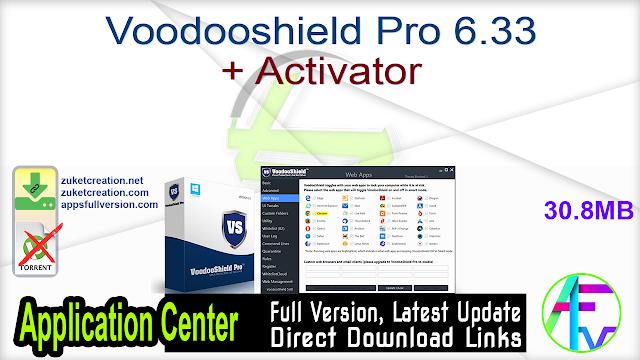 Voodooshield Pro 6.33 + Activator