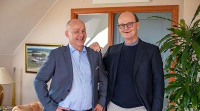 Mats Jakobsson och Ove Bender