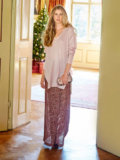 Burda 12 2015 #115 sequin maxi skirt  from Burdastyle.com