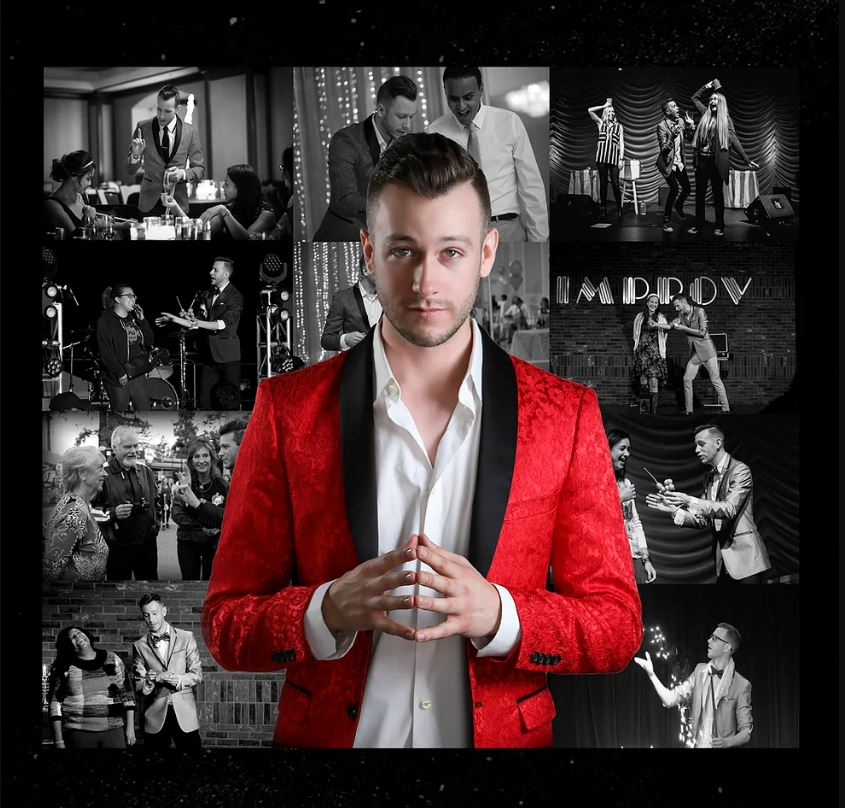 Magician Spencer Grey San Jose, CA - Close-up Magic, Card Magic Tricks, Stage Magic, Illusions