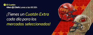 william hill 3 CUOTONES EXTRA Super Bowl 3 febrero 2020